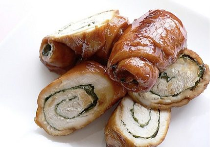 دستور پخت رل بوقلمون ایتالیایی