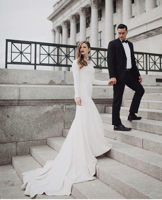 مدلهای جذاب و زیبای لباس عروس ۲۰۱۹