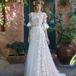 جدید ترین مدل لباس عروس پروانه ای پشت باز
