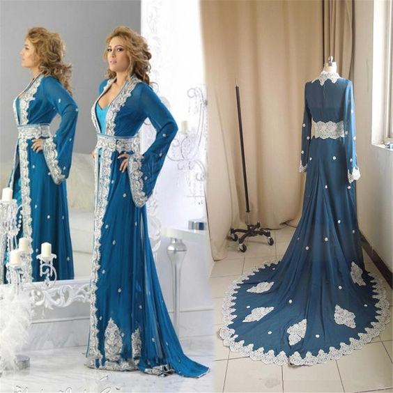۱۴ تا از زیباترین انواع مدل لباس مجلسی عربی