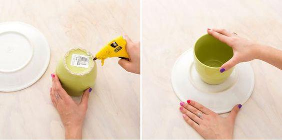 عکس روش درست کردن شیرینی خوری پایه دار
