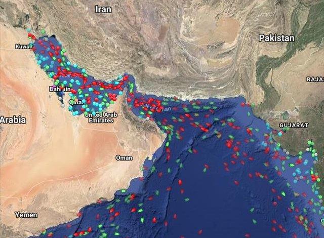 تنگه هرمز,صادرات نفت ایران,درباره تنگه هرمز