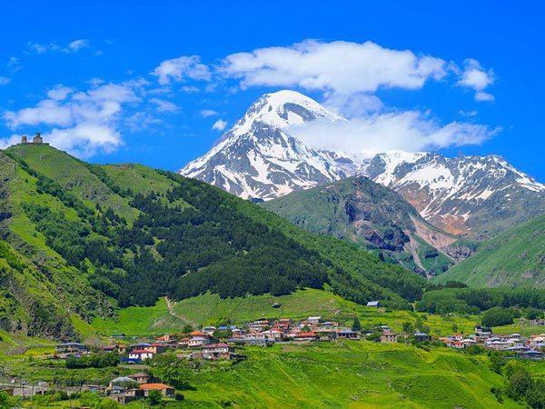 کوه کازبک یا قازبگی Kazbek