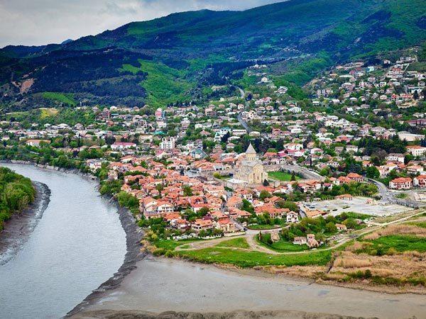 عکس شهر متسختا (Mtskheta) در تفلیس گرجستان