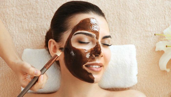 ماسک جوانسازی پوست با ماسک شکلات