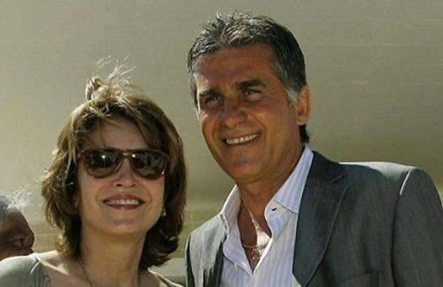 بیوگرافی کارلوس کیروش و همسرش