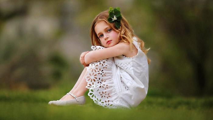 اسم دختر با کلاس - عکس دختر بچه ناز