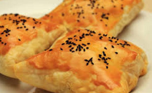 غذا با خمیر یوفکا مستطیلی
