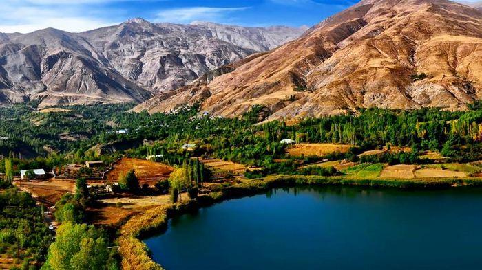 معرفی دریاچه اوان؛ عروس خشچال