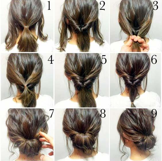 آموزش مدل بافت مو دخترانه بسته