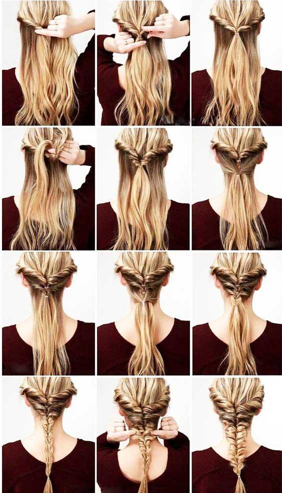 آموزش مدل بافت مو دخترانه دوطرفه هلندی