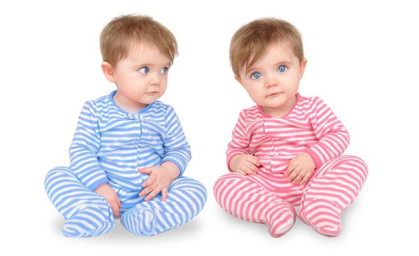 اسم دوقلو دختر و پسر - عکس دختر و پسر دوقلو