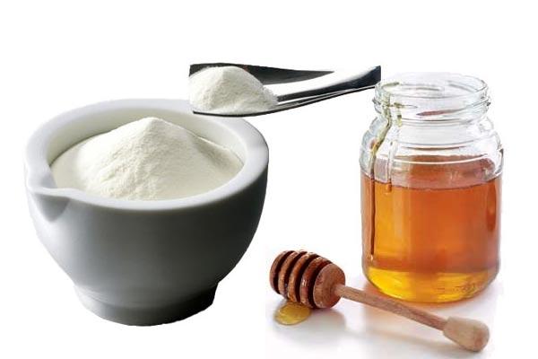شیر خشک و عسل