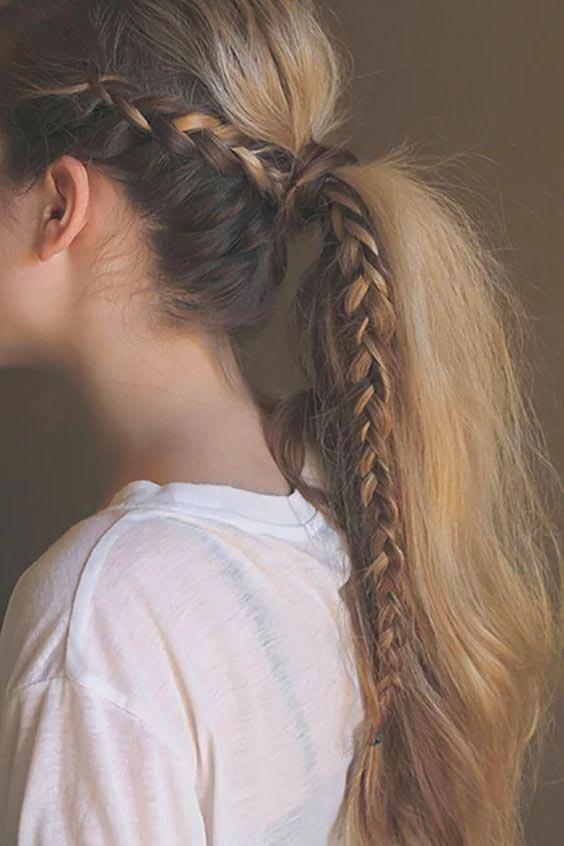 مدل بافت مو دخترانه فرانسویگام به گام (20 مدل)