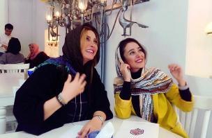 تبریک فریبا نادری برای تولد 30 سالگی الناز حبیبی