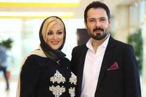 تبریک عاشقانه کوروش تهامی به همسرش