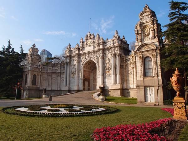 کاخ دلمه باغچه استانبول