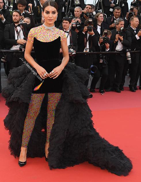 بهترین مدل لباس در جشنواره کن 2018 Cannes - کامیلا سوئلهو Camila Coelho,مدل لباس,جشنواره کن,جشنواره کن 2018,بهترین مدل لباس در جشنواره کن 2018,مدل لباس های برتر در جشنواره کن 2018