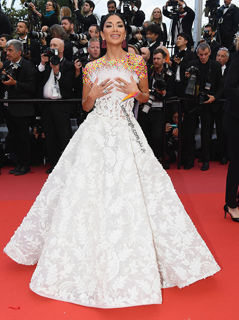 بهترین مدل لباس در جشنواره کن 2018 Cannes - نیکول شرزینگر Nicole Scherzinger,مدل لباس,جشنواره کن,جشنواره کن 2018,بهترین مدل لباس در جشنواره کن 2018,مدل لباس های برتر در جشنواره کن 2018