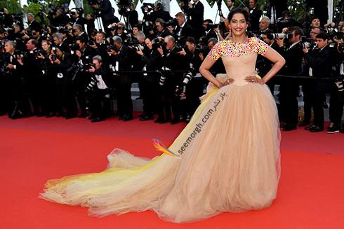 بهترین مدل لباس در جشنواره کن 2018 Cannes - سونام کاپور Sonam Kapoor,مدل لباس,جشنواره کن,جشنواره کن 2018,بهترین مدل لباس در جشنواره کن 2018,مدل لباس های برتر در جشنواره کن 2018