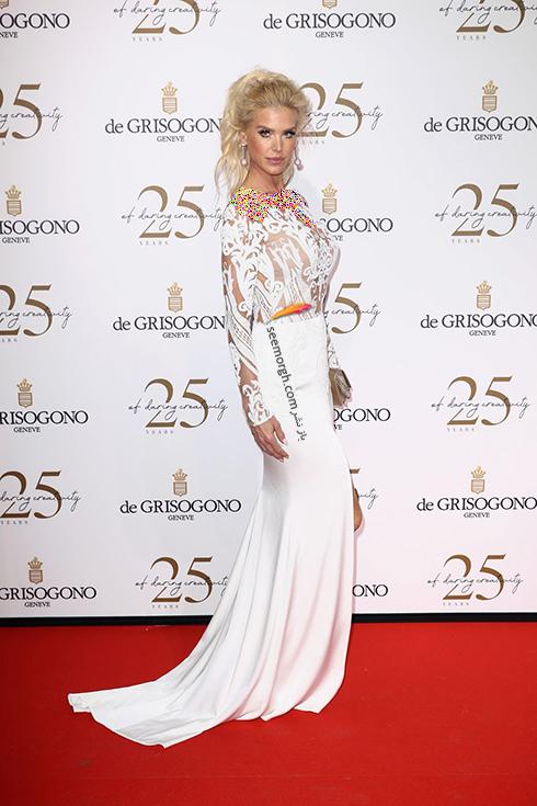 بهترین مدل لباس در جشنواره کن 2018 Cannes - ویکتوریا سیلوستدت Victoria Silvstedt,مدل لباس,جشنواره کن,جشنواره کن 2018,بهترین مدل لباس در جشنواره کن 2018,مدل لباس های برتر در جشنواره کن 2018