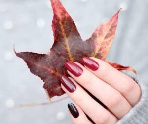 رنگ های مناسب لاک پاییزی