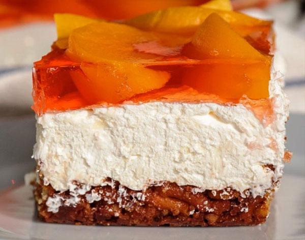 عکس دسر - کیک ژله بستنی