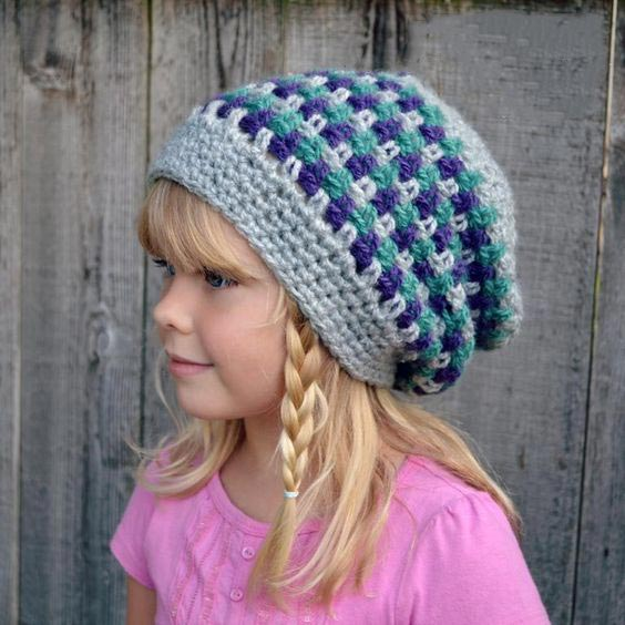 مدل کلاه بافتنی بچه گانه