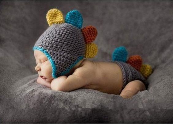 مدل کلاه بافتنی بچه گانه به شکل حیوانات