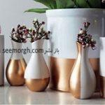 آموزش تزیین گلدان های زیبا با وسایل ارزان قیمت در منزل