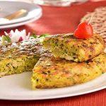 دستور پخت کوکوی مرغ و قارچ
