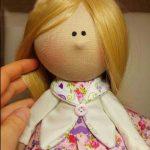 آموزش  مرحله به مرحله دوخت عروسک روسی با الگو/ عکس