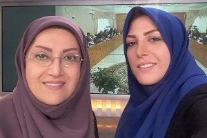 توضیحات المیرا شریفی مقدم  درباره سوتی خنده دارش
