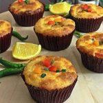 دستور پخت فینگرفود کاپ کیک پیتزا