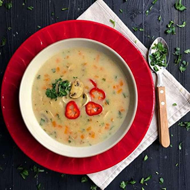دستور پخت سوپ جو سفید