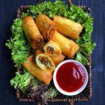 بورک گوشت و سبزیجات