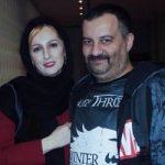تبریک تولد مهراب قاسم خانی به همسرش