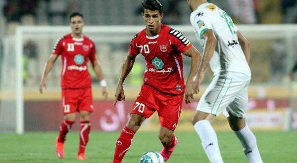 نتیجه بازیپرسپولیسو فولاد خوزستان هفته هفدهم لیگ برتر