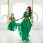 مدل های بینظیر لباس مجلسی ست مادر و دختر