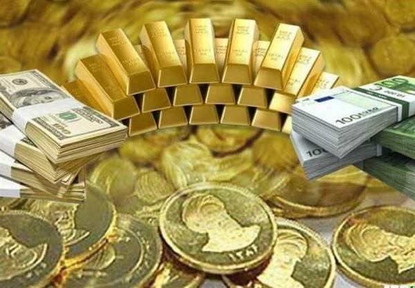 قیمت دلاروسکه وطلا امروز ۵ فروردین ۹۸