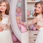 ۱۸مدل جذاب لباس عروس کودکانه
