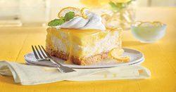 نحوه پخت چیزکیک لیمویی خوشمزه