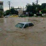 شهرستان پلدختر زیرآب رفت