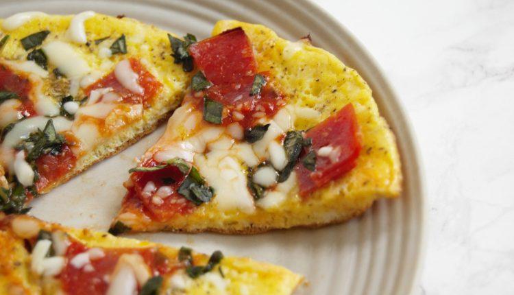 دستور پخت املت با پنیر پیتزا