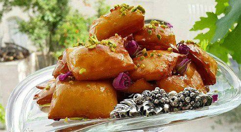 نحوه پخت گوشفیل خانگی شیرینی  معروف ماه رمضان