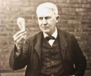 اختراعات توماس ادیسونکه تا به حال  به ثبت نرسیده است