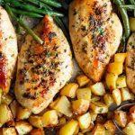 طرز تهیه مرغ و سیب زمینی کباب شده