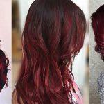 انواع رنگ موی ماهگونی وترکیب آن