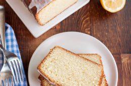 آموزش پخت پاند کیک لیمویی با سس مخصوص