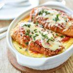 مرغ سوخاری با پنیر پارمزان